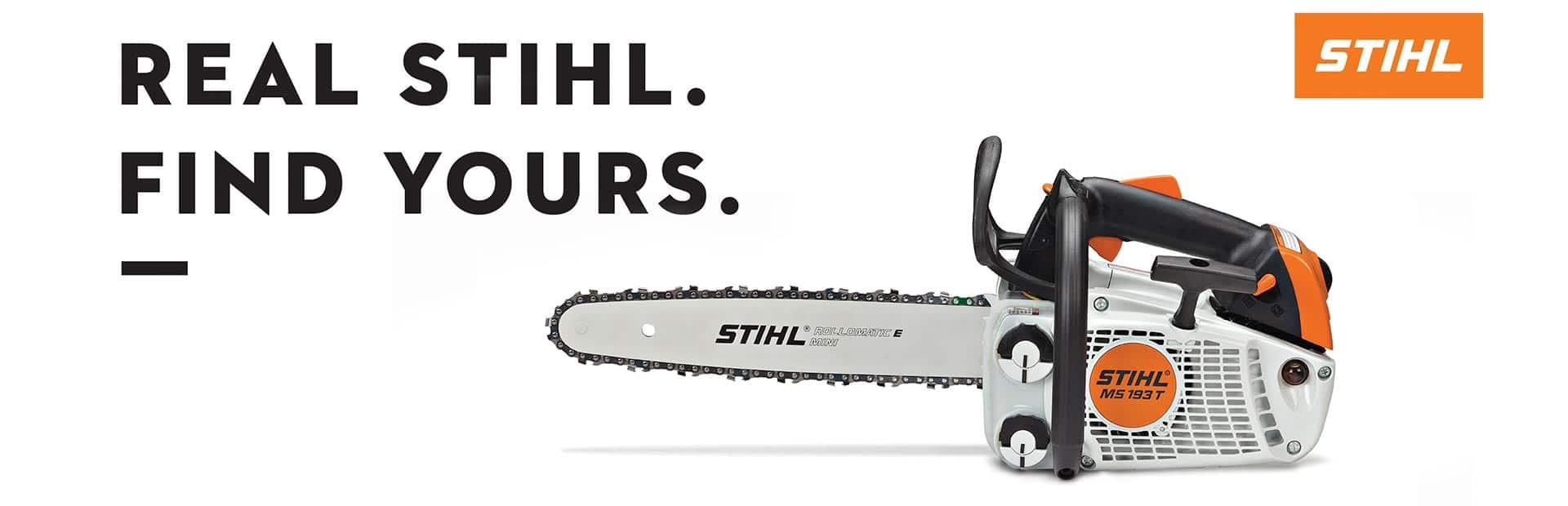banner-STIHL-chainsaw-white